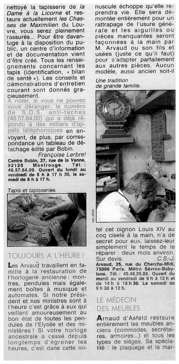 Article Le-Figaro-Madame-Juin-1986
